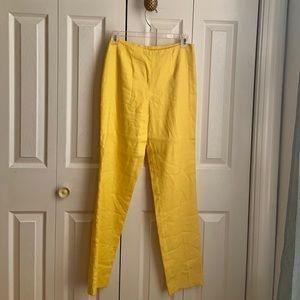 Vintage Ralph Lauren Yellow Pants Size 2